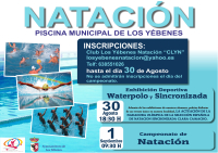 red horizontal natacion